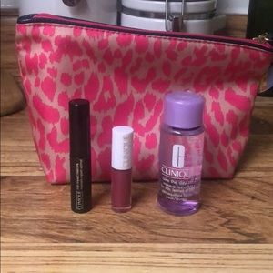 Clinique makeup bundle; 4 NEW products